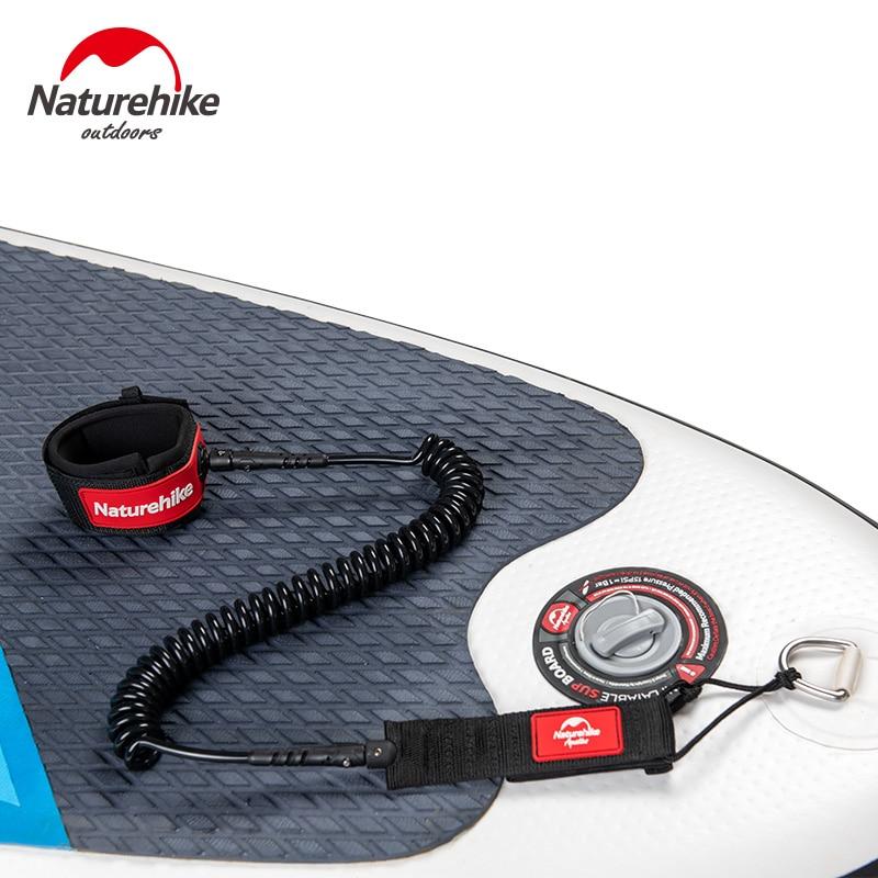 Naturetrekking Surf laisse Sup Surf planche de Surf laisse Sup laisse corde Stand Up Paddle Board laisse bobine accessoires