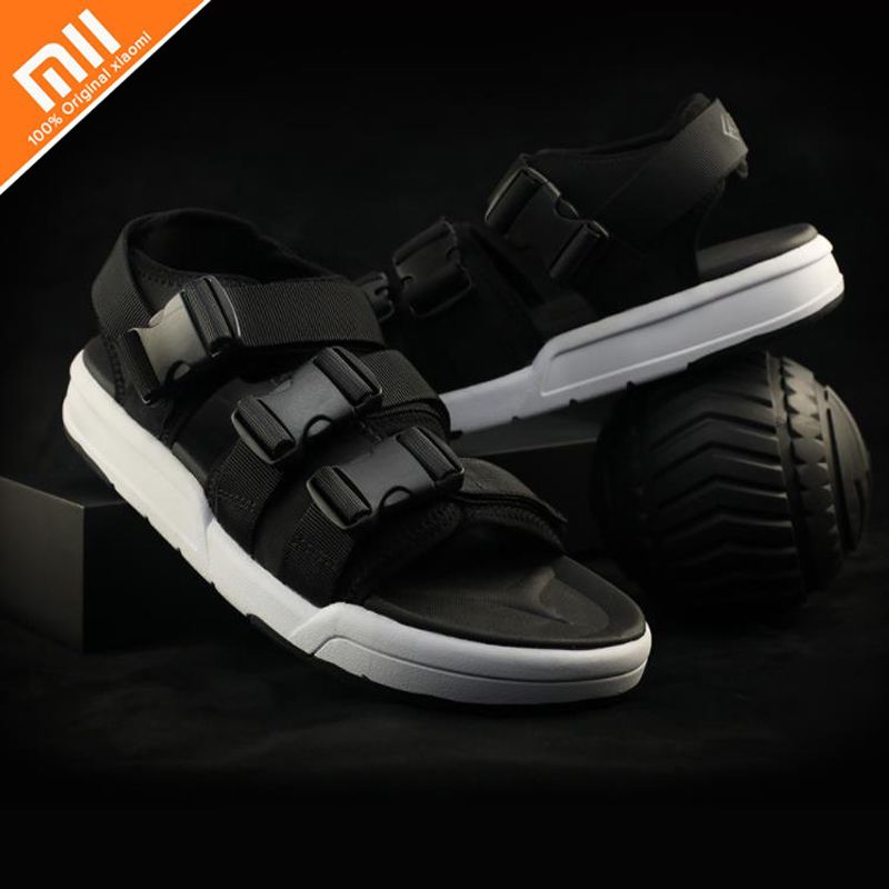 Original xiaomi mijia free buckle arc buckle men s sandals comfortable soft pedal bed skid suitable