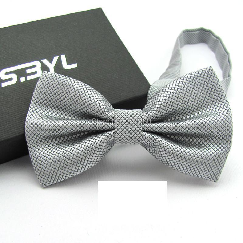 17 Solid color bowtie men Bow Tie Fashion butterflies white black blue 2
