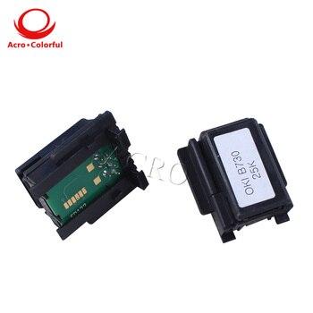 25K 1272001 Cartridge chip compatible for OKI B730 B730dn B730n Laser Printer compatible okidata 45536406 clear toner cartridge chip for oki transfer belt c911 c931 c941 c942 c 911 931 941 942 printer chips