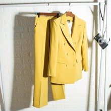 High-end suit suit women's British style fashion trend profe