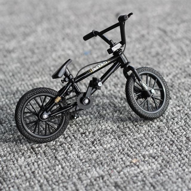1:50 Черный Finger Велосипед Игрушки Флик Трикс Мини bmx велосипеды велосипед модель игрушки для детей мальчиков горный велосипед подарок Новинка игры фсб