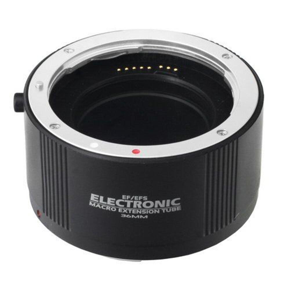 FOTGA électronique Macro AF Auto Focus Extension automatique Tube anneaux Set baïonnette en métal pour Canon EF/EF-S monture lentille - 6