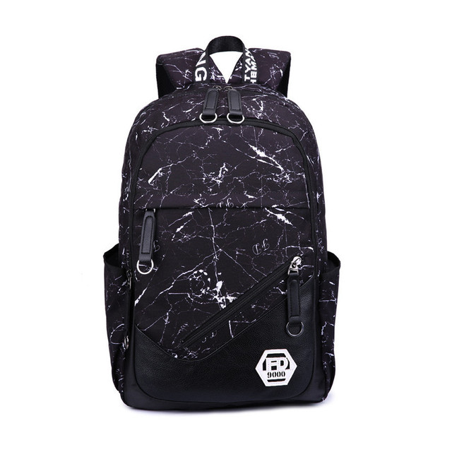 new arrival black waterproof school backpack for boy high school bags for boys  men travel bags 1754c7fa66112