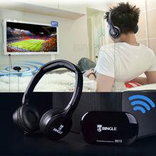 2019 Bingle B616 אלחוטי 2.4G אוזניות ארגונומי אוזניות עם FM עבור מחשב טלוויזיה Cellphon