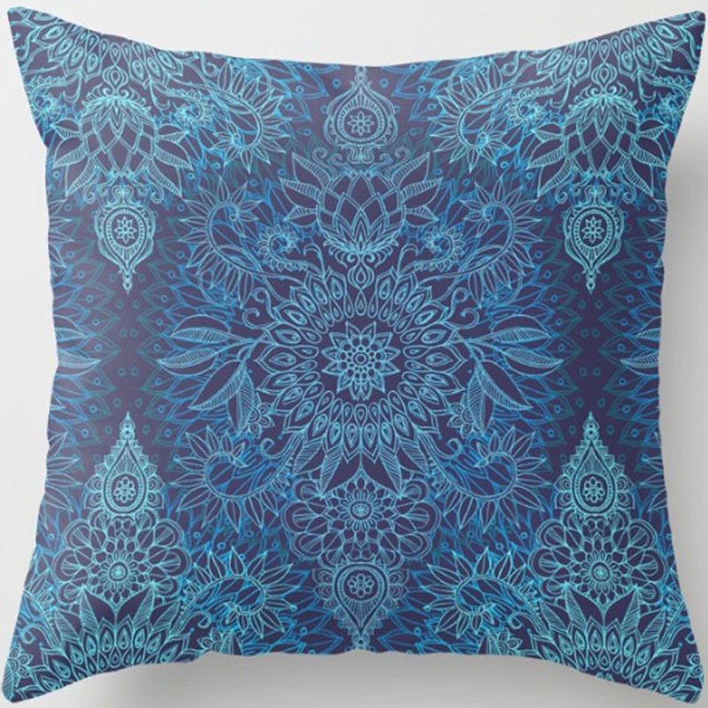 XJBZT030F07aqua-cobalt-blue-purple-protea-doodle-pattern-pillows