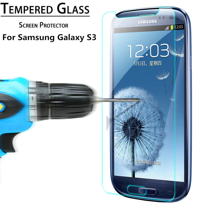 Protective glass for Samsung Galaxy S3 I9300 SIII S III 3 Tempered Glass for samsung s3 9H Screen Protector Film 2.5D Shatter