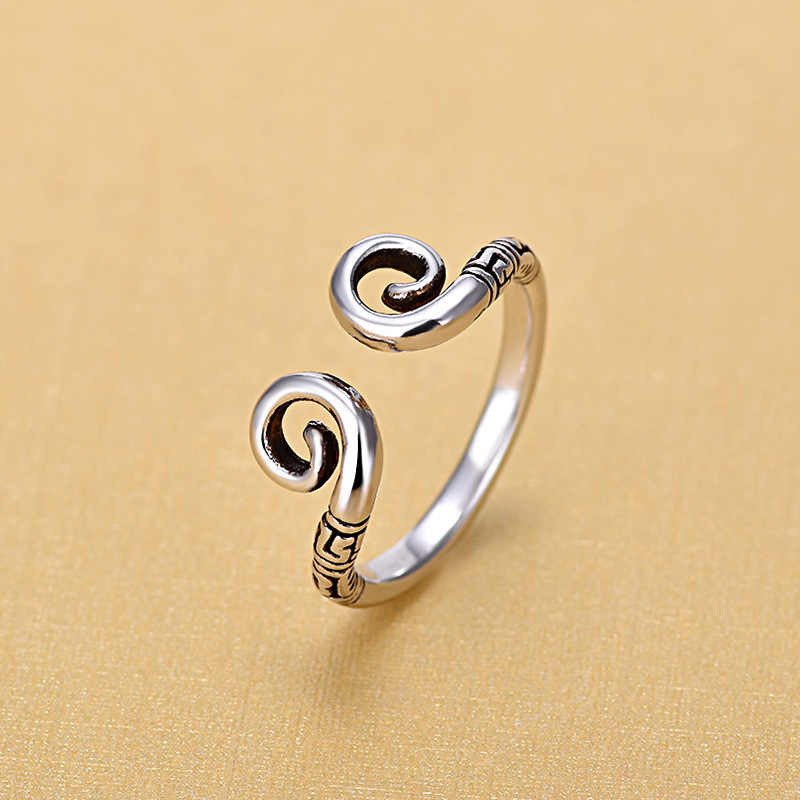 2018 New Arrivals Imitation Thai 925 Sterling Silver Rings for Women Ring Fashion Sterling Silver Jewelry