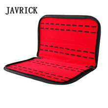 JAVRICK 20 Slots/Grids Leather Watch Case with Zipper Velvet Storage Box Tray Travel Jewelry Packing Shelf Organizer