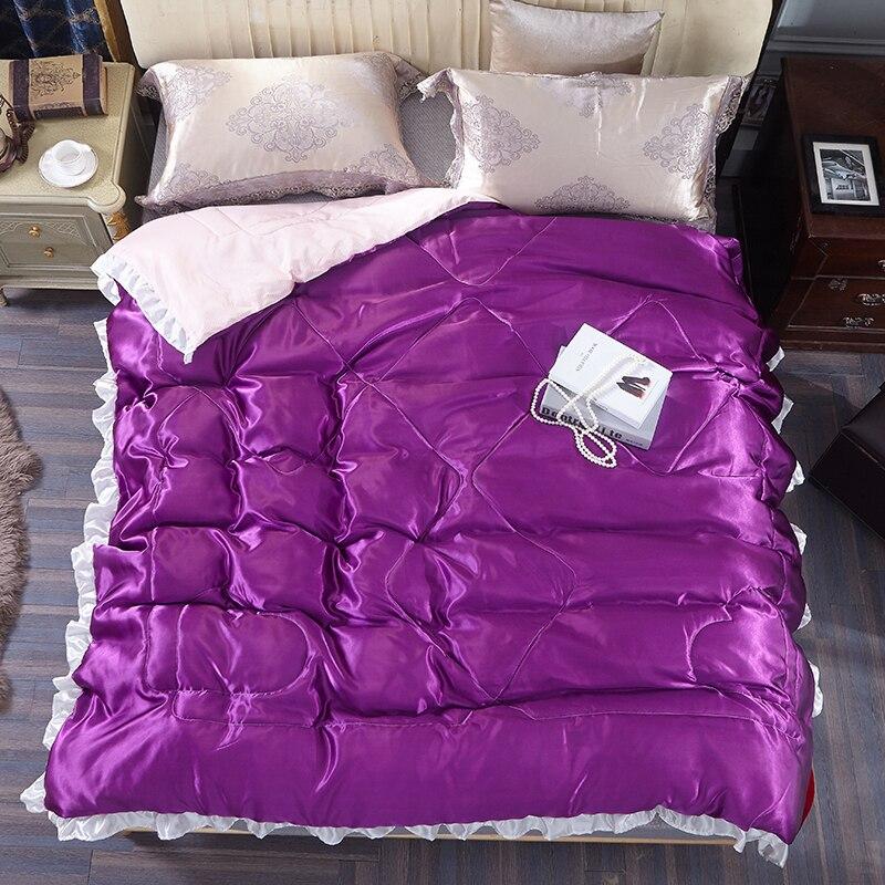 Luxury 100 Chinese Silk Comforter Summer Silk Quilt Mulberry Comforter Silk Blanket Comforters Qween Double Twin