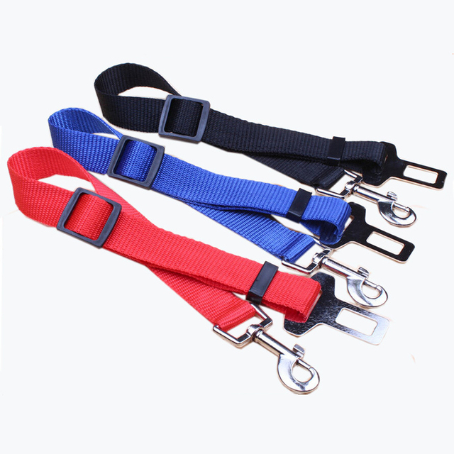 Pet Dog Safety Belt Vehicle Car Seat Belt Travel Dog Cat Accessories Clip Lead Restraint Harness traction New Adjustable lead 10