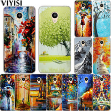 VIYISI Phone Case For Meizu U20 10 M6 5 Note M5S 5C M3s 3Note Pro6 Landscape Painting Soft TPU Shell Coque Cover Fashion