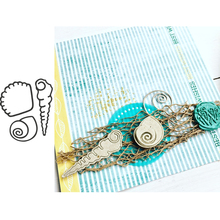 Seashells Metal Cutting Dies for Scrapbooking and Cards Making Paper Craft New 2019