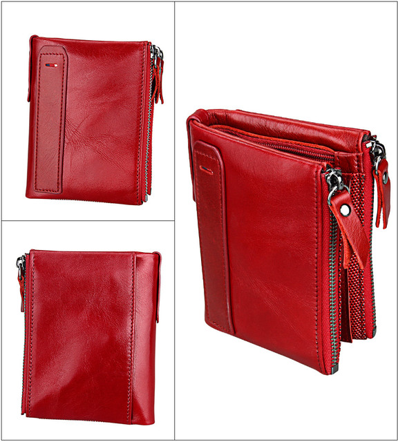 Vintage Small Zipper Wallet  4
