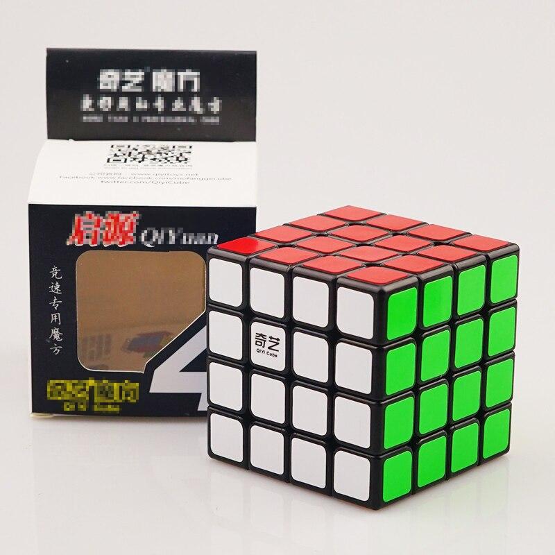 4*4*4 cubo de velocidade profissional cubo mágico brinquedos educativos para crianças aprendendo cubo mágico brinquedos