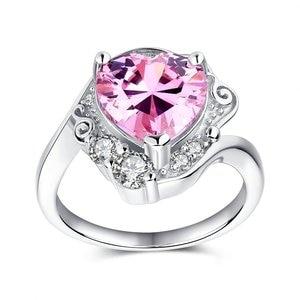 Image 2 - Sailor moon 25th aniversário princesa serenidade tsukino usagi 925 prata esterlina amante coração anel de noivado