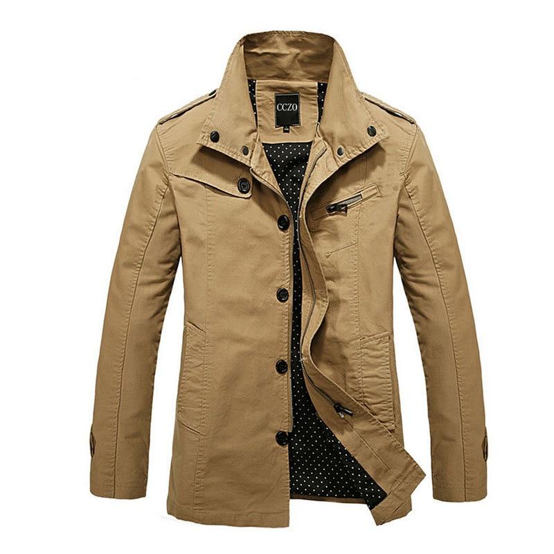 Aliexpress.com : Buy Jacket Men Slim Fit Men Fashion Outerwear ...