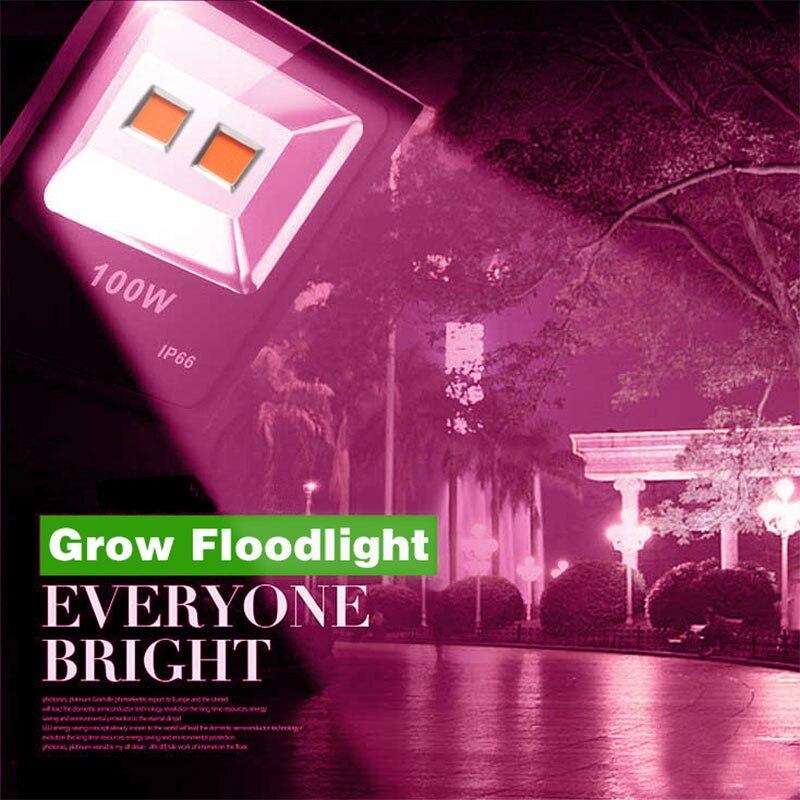 Full Spectrum Plants led grow light 20W 30W 50W 100W Floodlight Plants Hydroponic Grow Lamp for Indoor Garden Greenhouse Plant стоимость