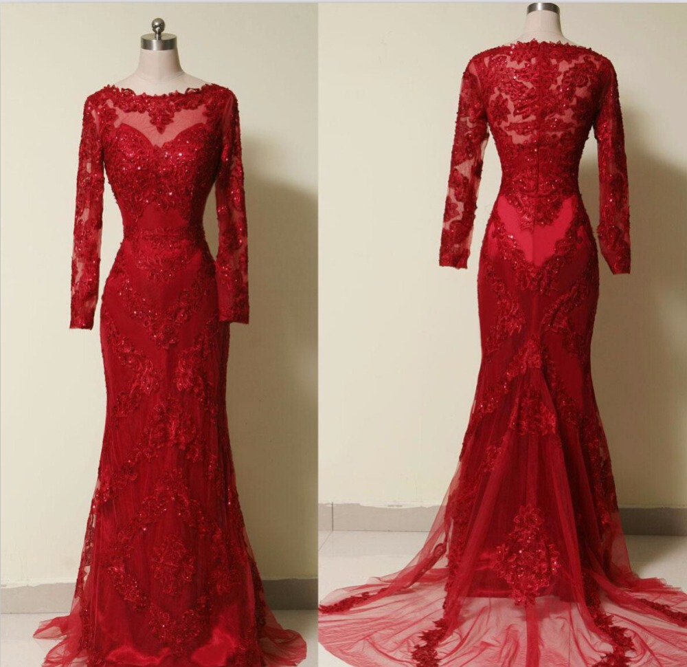 Cherry Red Prom Dresses