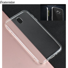 Transparent Silikon fall Für Samsung Galaxy J5 2017 J530 J7 2017 J7 Pro J3 2017 EU Klar Weichen TPU schutz objektiv Zurück Abdeckung