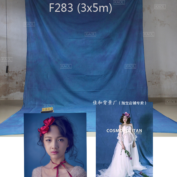Fond de mariage personnalisé cravate teints fond de mousseline pour studio de photographie peint à la main famille portrait décors photographiques
