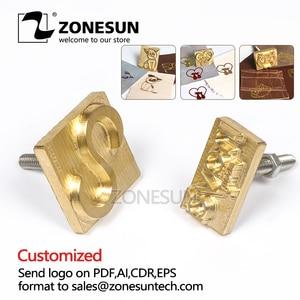 ZONESUN Custom LOGO Hot Brass