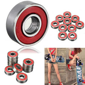 Image 1 - High Quality 10Pcs 608zz Skating Rolling Skateboard Longboard Wheel Skate Bearings Roller ABEC 7 Set For Skate Shoes Scooter