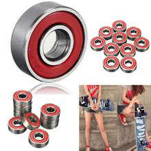 Roulements de Skateboard, 10 pièces, planche à roulettes, Longboard, roulettes, ABEC 7 ensembles de roulettes, trottinette, haute qualité