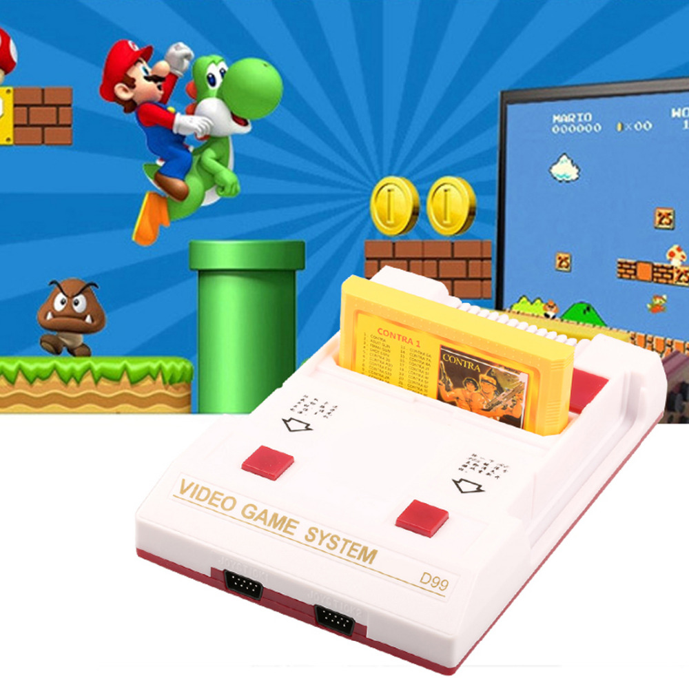 US plug High Qunity Classical family game box TV game console 8bit TV game 80 yesrs