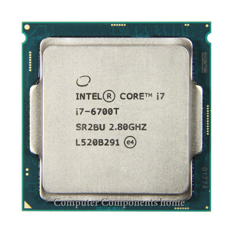 INTEL Core I7 6700T I7-6700T CPU i7 Processor 2.8G 35W LGA 1151 14nm Quad Core RAM DDR3L/DDR4