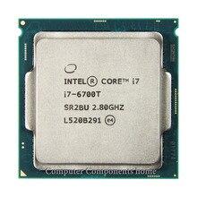 INTEL Core I7 6700T I7-6700T CPU i7 Processor 2.8G 35W LGA 1151 14nm Quad Core RAM DDR3L/DDR4
