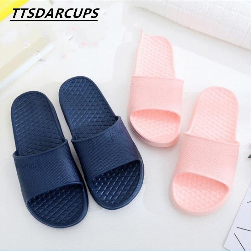Foam Slippers Summer Floor Skid Proof Home Floor Slippers, Indoor Family Bathroom, Bath Sandals, Slippers Women