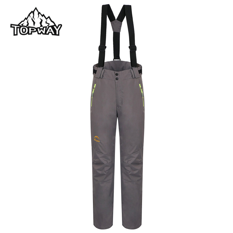 2in1 Outdoors Water Resistant Windbreaker Pantalones Mujer Breathable Salopettes Snowboard Women Pants Removable Fleece Liner
