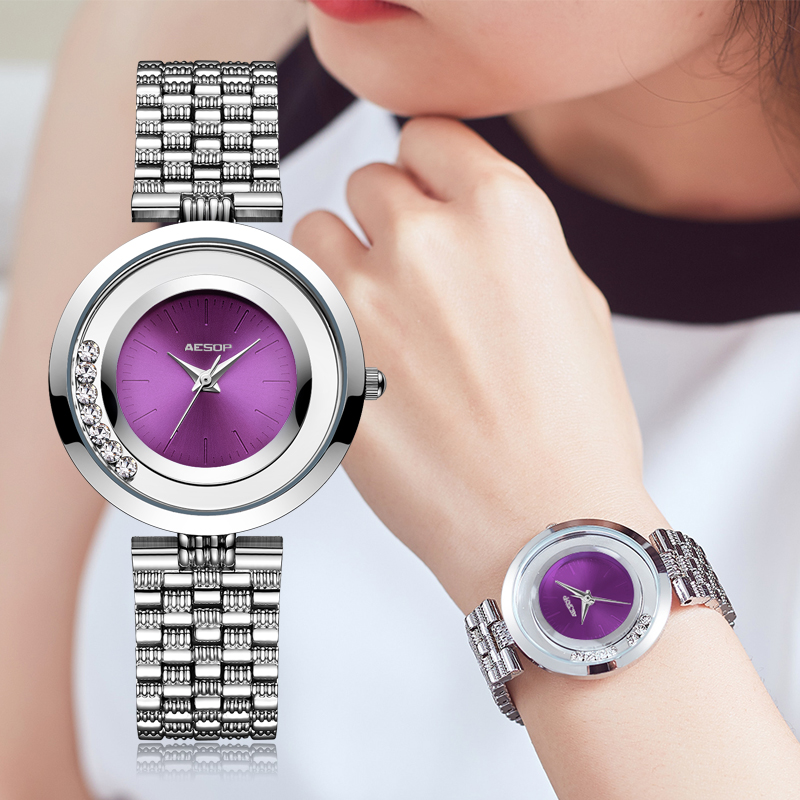 2018 Women Watches luxury brand watch AESOP lady Quartz Wristwatch Thin Bracelet fashion Ladies watch Relogio Feminino Montre bs brand women luxury fashion rhinestone watches lady shining dress watch square bracelet wristwatch ladies diamond quartz watch