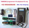 TNM5000 USB Programador NAND 25 flash/EEPROM/MCU/PLD/CPLD/FPGA/ISP/JTAG tomada tsop48 14 adaptadores SOP28 SOP8 clipe IC K9GAG08UE