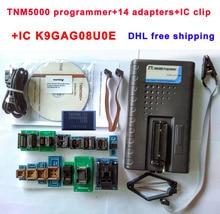 TNM5000 USB Программист NAND 25 flash/EEPROM/MCU/PLD/CPLD/FPGA/ISP/JTAG SOP8 socket tsop48 14 адаптеры SOP28 IC клип K9GAG08UE