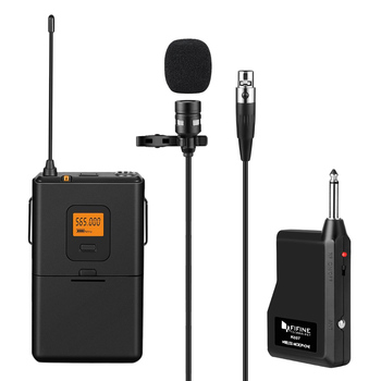 2018 FIFINE K037 U-Segment Wireless Lavalier Microphone vocal Lapel Clip Mic Voice Amplifier Mini Mic For Teaching Speech