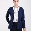 Warm Ups Jacket Nurse Tops Stretch Button Front Scrub Jackets Nurse Coat Warm Up Medical Scrub Top Long Sleeve Workwear Tunic