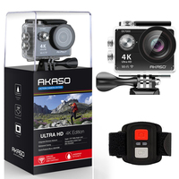 AKASO EK7000 4K WiFi Sports Action Camera Ultra HD Waterproof DV Camcorder 12MP Cameras Sport Cam 170 Degree Wide Angle Original