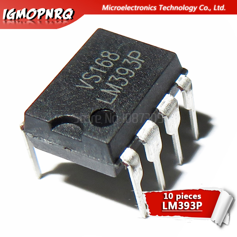 10pcs LM393P LM393 LM393N 393 DIP New Original