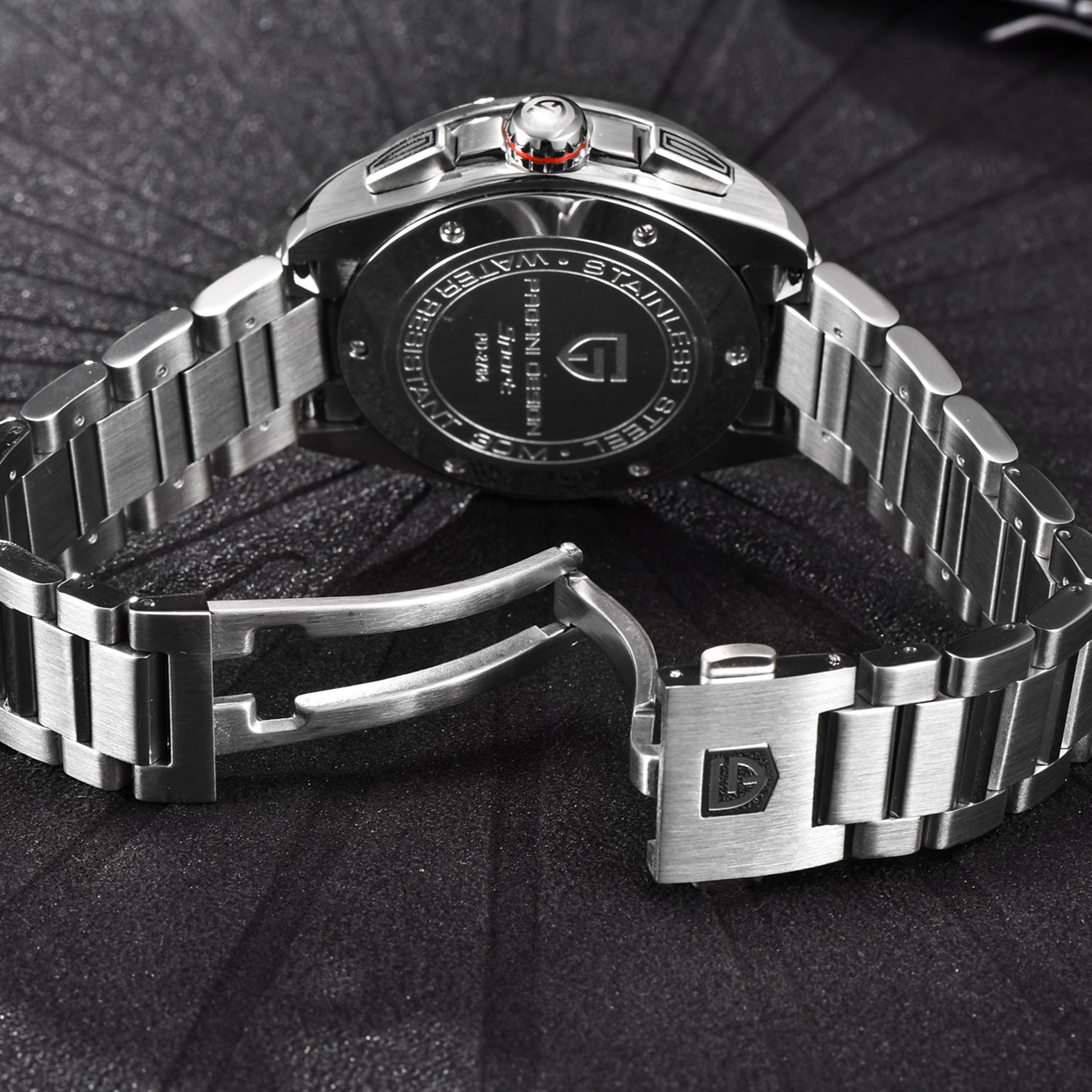 Relojes deportivos de marca de diseño PAGANI para hombre, cronógrafo militar, reloj militar de cuarzo, acero inoxidable, reloj militar para hombre, reloj Masculino, Saat - 4