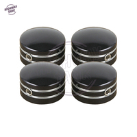 4 Pcs Black Motorcycle Head Bolt Covers Case For Harley Sportster XL883 XL1200 Twin Cam Big