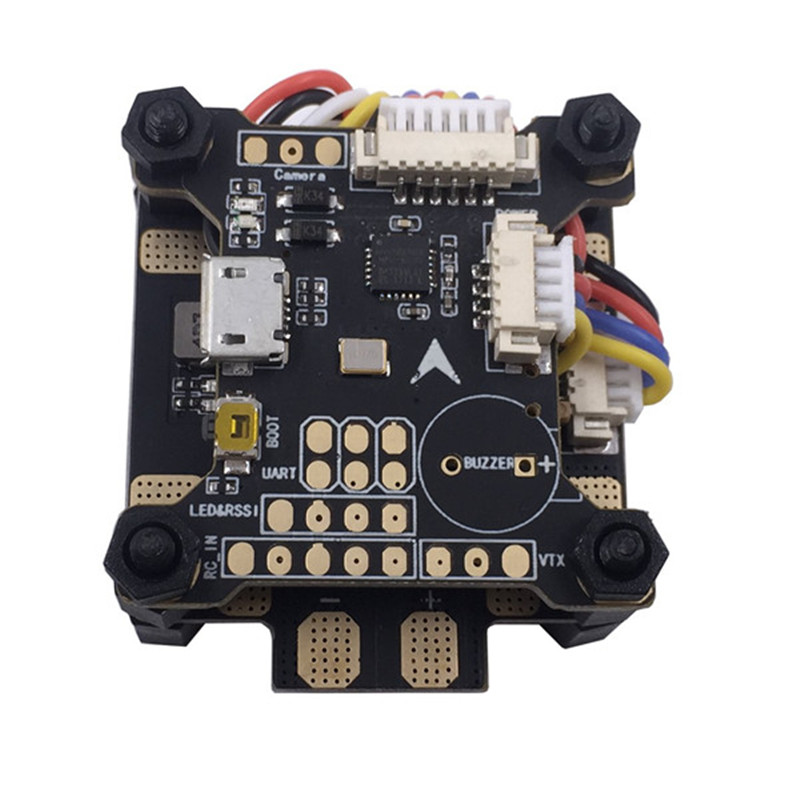 Mango 30.5x30.5mm Omnibus F3 Flight Controller AIO Betaflight OSD Current Sensor & 5V 12V PDB Board For RC Models Quadcopter omnibus f303 b6 v2 f3 flight controller replace integrate osd hub fpv section board for airframe quadcopter multicopter rc drone
