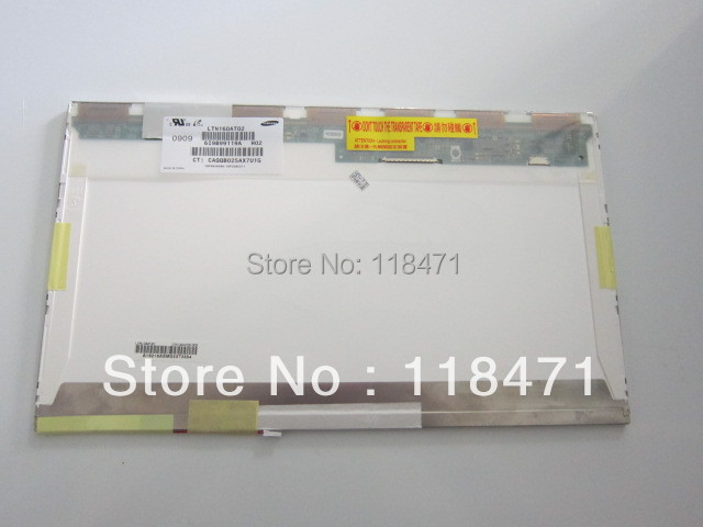 Laptop Ekran LTN160AT02-H02 LCD panel display16.0 WXGA HD 1366*768 1 CCFLLaptop Ekran LTN160AT02-H02 LCD panel display16.0 WXGA HD 1366*768 1 CCFL