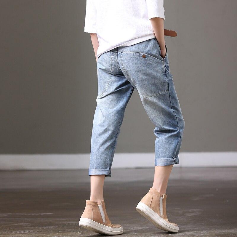 N3632 Blue pocket jeans