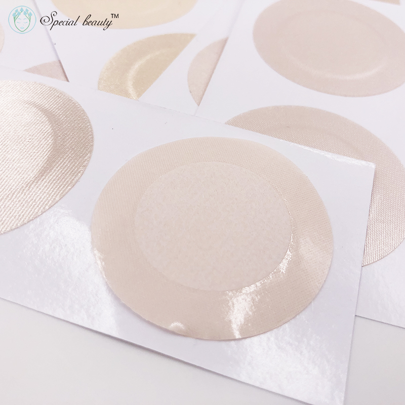 Free Shipping!!!Special Beauty 10pcs 20pcs 50pcs Skin Color Invisible Round Sexy No Trace No Sense Nipple Cover Breast Petals