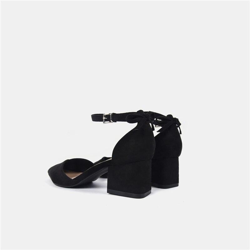 Bureau Pompes Bout Chaussures Black beige D'été Mode Lady Talons Inférieure Femme 118 K Pointu Femmes Noir Uq8wxwnP5