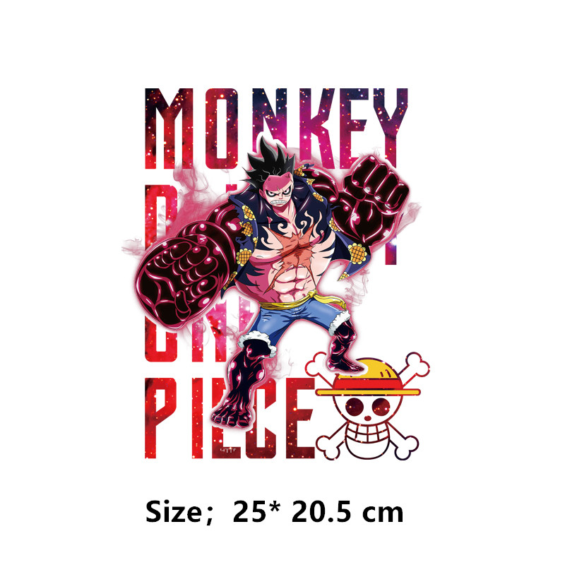 Top Quality One Piece Mugiwara Luffy Patches