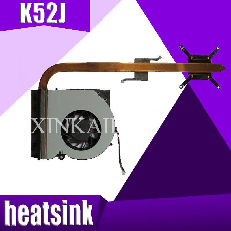 XinKaidi Original For asus laptop heatsink cooling fan cpu cooler K52 K52F A52F X52F k52J P52J