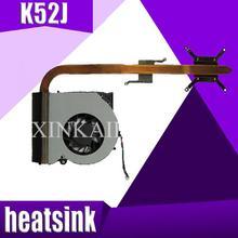 XinKaidi оригинальный для ноутбуков Asus радиатора охлаждения Вентилятор cpu кулер K52 K52F A52F X52F k52J P52J A52J X52J K52D X52D Процессор радиатора